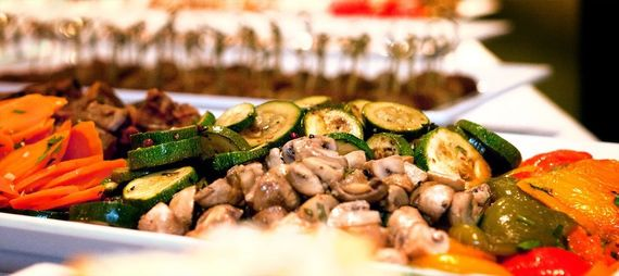 Hochzeitsessen Tafelfreuden Event Catering – gesehen bei frauimmer-herrewig.de