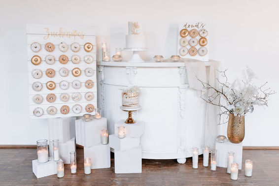 Sweet Table White Wedding – gesehen bei frauimmer-herrewig.de