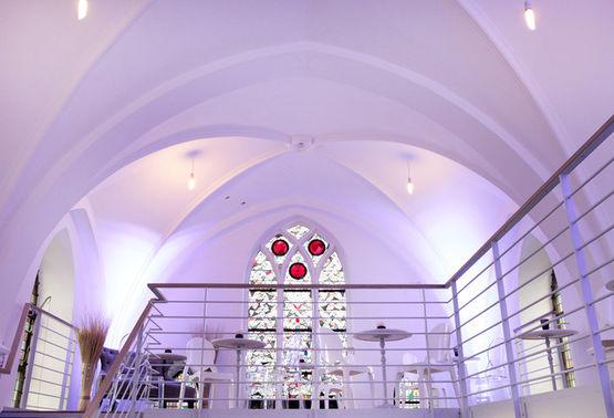 Eventkapelle Blick auf Galerie – gesehen bei frauimmer-herrewig.de