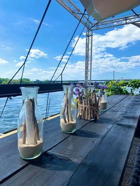 Hausboot auf dem Rhein – gesehen bei frauimmer-herrewig.de