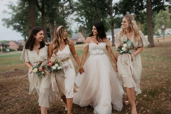 Bridesmaids Shooting – gesehen bei frauimmer-herrewig.de