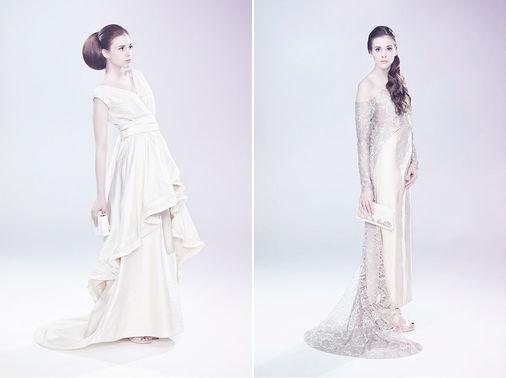 Andrea Droemont Modedesign Brautmode elegance Foto lieske hochzeitsfotografie – gesehen bei frauimmer-herrewig.de