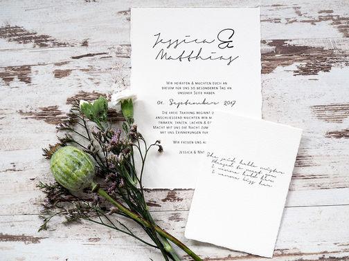 Traufabrik papeterie Einladung Hochzeit – gesehen bei frauimmer-herrewig.de