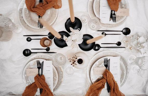 Tischdeko Toskana Wedding – gesehen bei frauimmer-herrewig.de