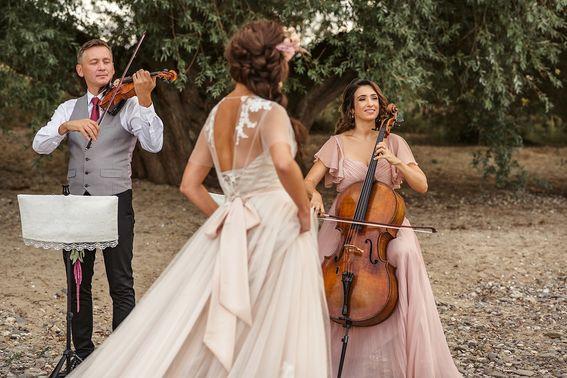 Streicduo für Hochzeitsmusik – gesehen bei frauimmer-herrewig.de