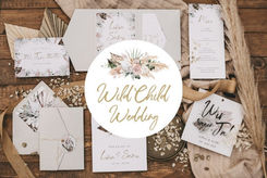 Wild Child Wedding - Boho & Vintage Papeterie