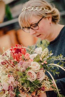 Flowers Emotions Brautschmuck Blumen Heike – gesehen bei frauimmer-herrewig.de