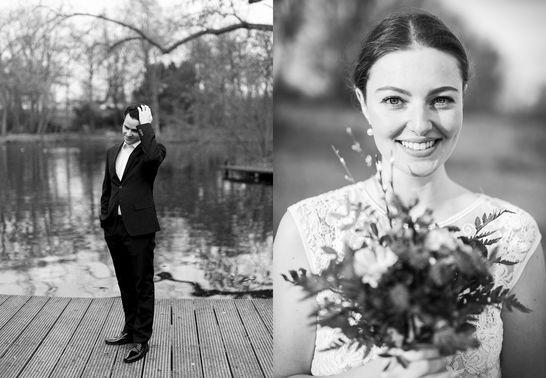 Schwarz-Weiß Fotografie von Ehepaar – gesehen bei frauimmer-herrewig.de