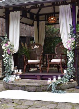 Blumendekoration Hochzeit Flowes n Joy 03 – gesehen bei frauimmer-herrewig.de