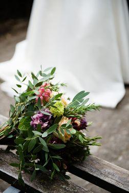 Hochzeit Foto Brautstrauß – gesehen bei frauimmer-herrewig.de
