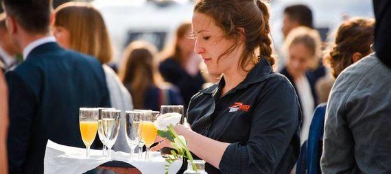 Sektempfang Tafelfreuden Event Catering – gesehen bei frauimmer-herrewig.de