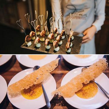 Fingerfood Hochzeitscatering – gesehen bei frauimmer-herrewig.de