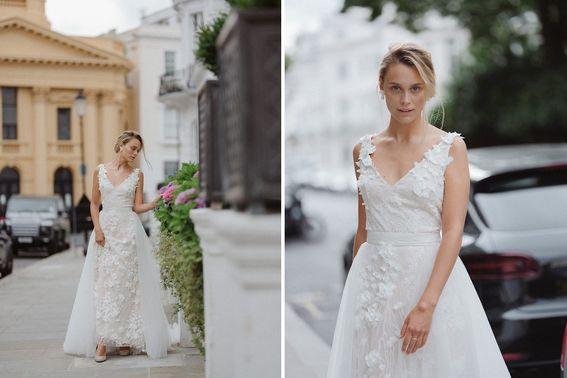 Brautkleid TIFFANY Designerin Michele Weiten – gesehen bei frauimmer-herrewig.de