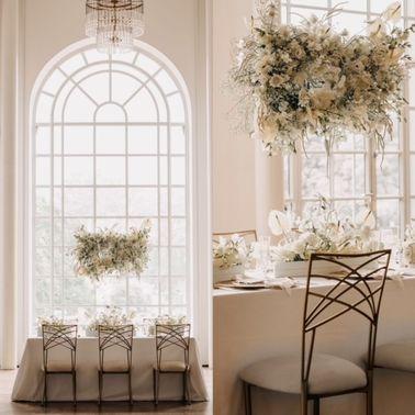 Florale Hochzeitsdeko im Boho Style – gesehen bei frauimmer-herrewig.de