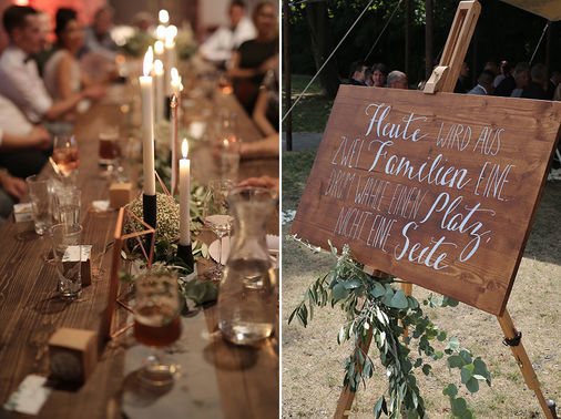Schild Trauung Be Unique Eventdesign and Wedding Planner – gesehen bei frauimmer-herrewig.de