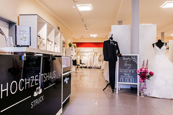 Hochzeitshaus Struck Ladengeschaeft – gesehen bei frauimmer-herrewig.de