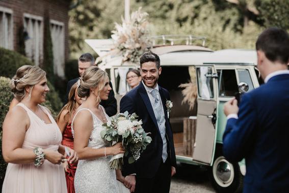 Vintage Fotobulli Hochzeit – gesehen bei frauimmer-herrewig.de