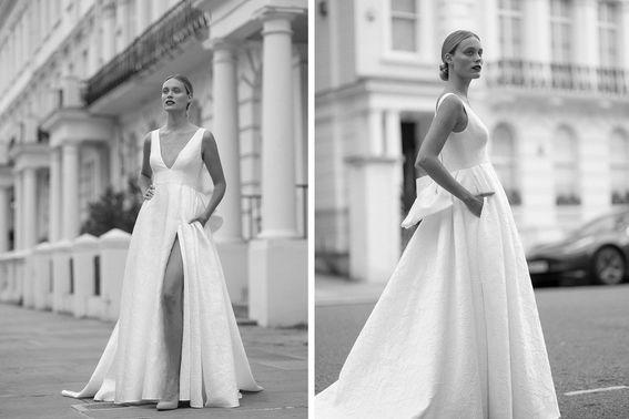 Brautkleid ALMA Designerin Michele Weiten – gesehen bei frauimmer-herrewig.de