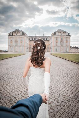 Hochzeit im Schloss – gesehen bei frauimmer-herrewig.de