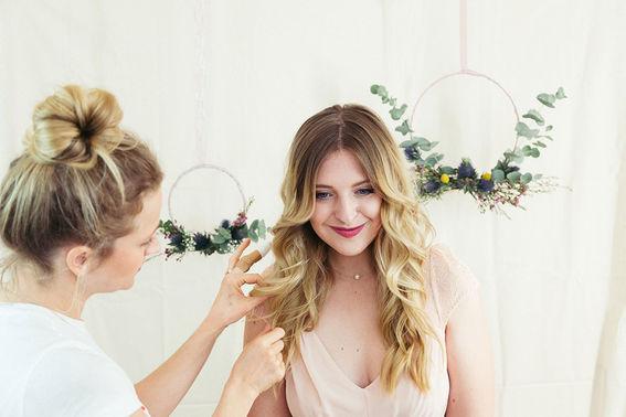 Lockere Brautfrisur TANTJE Beauty und Lifestyle – gesehen bei frauimmer-herrewig.de