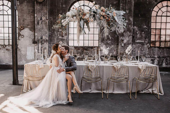 Hochzeitsdeko boho elegant liebeslinse – gesehen bei frauimmer-herrewig.de