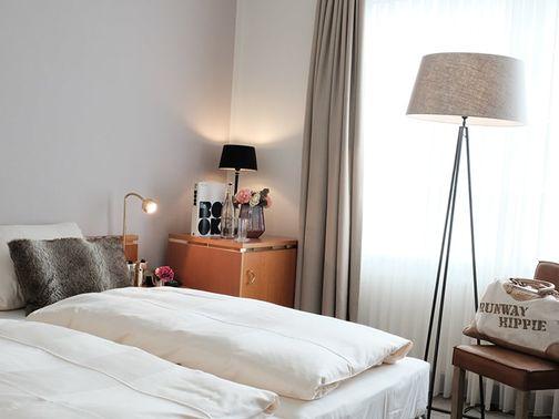 Zimmer des Hotels zur Post – gesehen bei frauimmer-herrewig.de