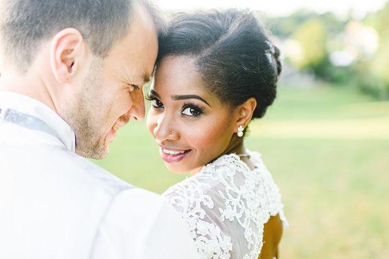 Hochzeitsfotografie Ehepaar in Nahaufnahme – gesehen bei frauimmer-herrewig.de