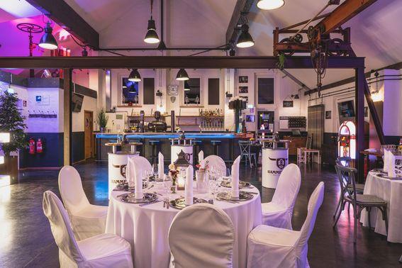 Innenraum der Hochzeitslocation – gesehen bei frauimmer-herrewig.de