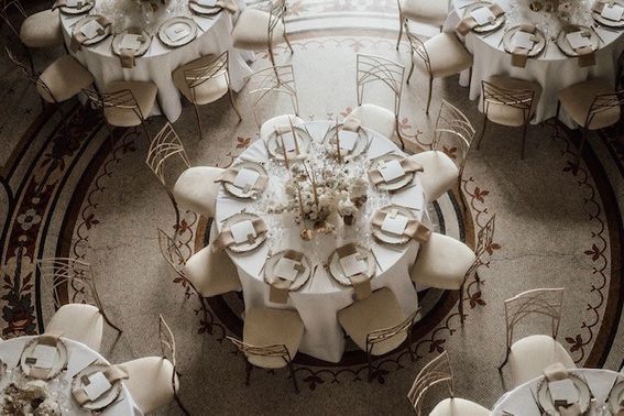 Tischdeko Hochzeit Boho – gesehen bei frauimmer-herrewig.de