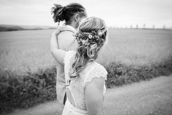 Hochzeitsfotografie in Schwarz-Weiß – gesehen bei frauimmer-herrewig.de
