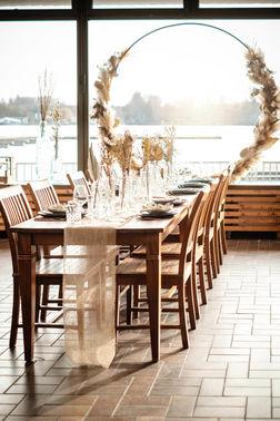 Hochzeitsfeier am See – gesehen bei frauimmer-herrewig.de
