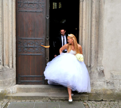 Brautpaar Hochzeit Kapelle - Manuele Klein – gesehen bei frauimmer-herrewig.de
