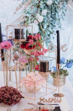 Tischdekoration Hochzeit 4YourWedding – gesehen bei frauimmer-herrewig.de