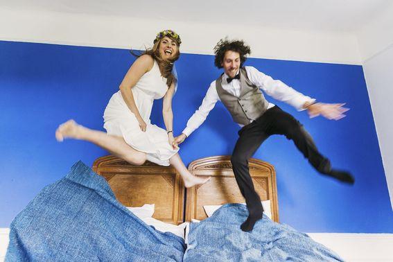 Brautpaar in Hochzeitsfotoshooting – gesehen bei frauimmer-herrewig.de