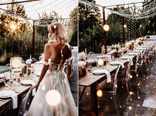 romantische Tischdeko Hochzeit - Tobias Tumac Photography – gesehen bei frauimmer-herrewig.de