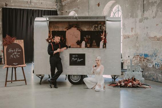 Urban Industrial Hochzeit meindistrikt Bar min – gesehen bei frauimmer-herrewig.de