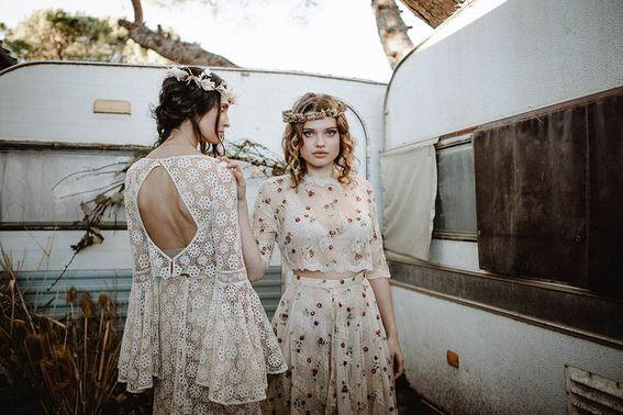 Brautkleider Vintage Hochzeit – gesehen bei frauimmer-herrewig.de