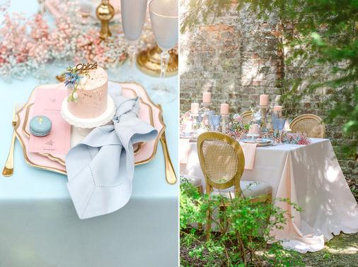 Hochzeitskonzept in Pasteltönen – gesehen bei frauimmer-herrewig.de