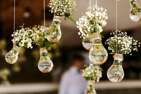 Dekoration für die Hochzeit – gesehen bei frauimmer-herrewig.de