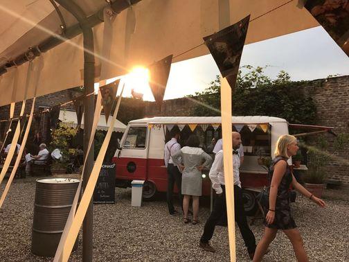 Foodtruck auf der Hochzeit – gesehen bei frauimmer-herrewig.de