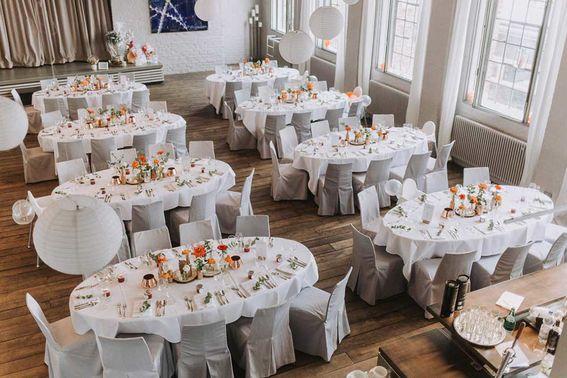 Kunstsalon Location Hochzeit octaviaplusklaus – gesehen bei frauimmer-herrewig.de