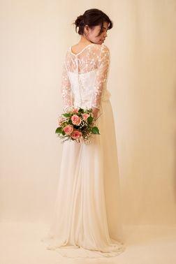 Weißes Hochzeitskleid aus Köln – gesehen bei frauimmer-herrewig.de