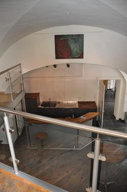 Galerie Blick von Empore - Copyright www.wingart.de – gesehen bei frauimmer-herrewig.de