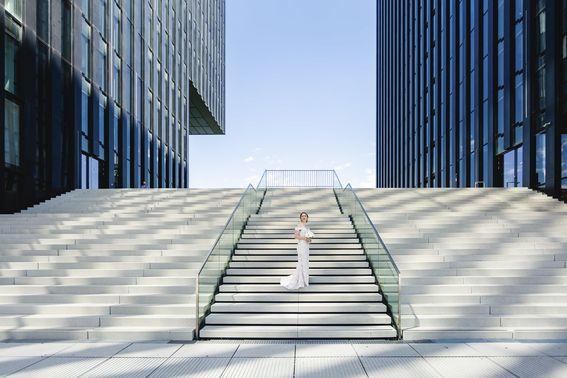 Fotoshooting mit der Braut – gesehen bei frauimmer-herrewig.de