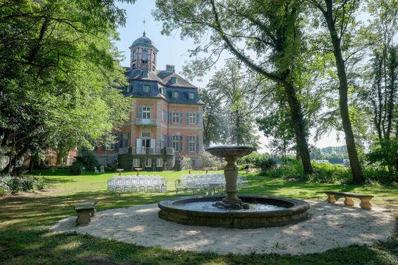 Schloss Arff Springbrunnen 2 – gesehen bei frauimmer-herrewig.de