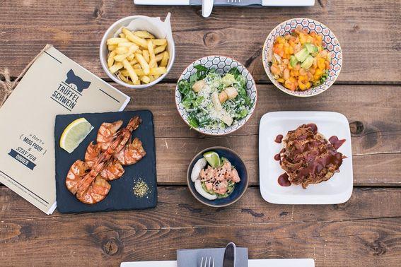 Essen im Trüffelschwein – gesehen bei frauimmer-herrewig.de