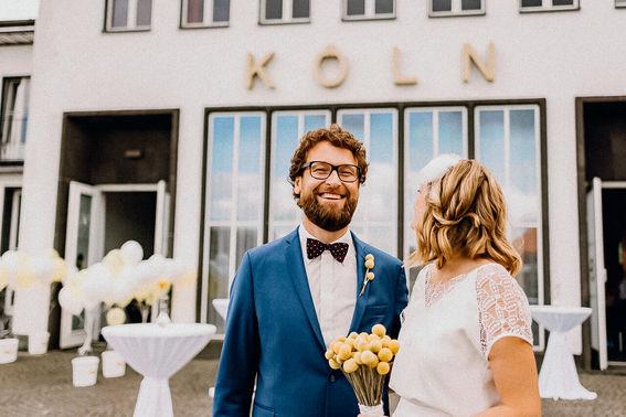 Empfang bei der Hochzeit – gesehen bei frauimmer-herrewig.de