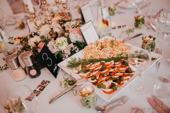 Fingerfood Hochzeit – gesehen bei frauimmer-herrewig.de