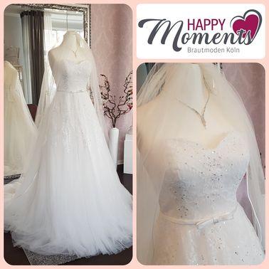 Brautkleid Koeln Brautmoden Happy Moments – gesehen bei frauimmer-herrewig.de