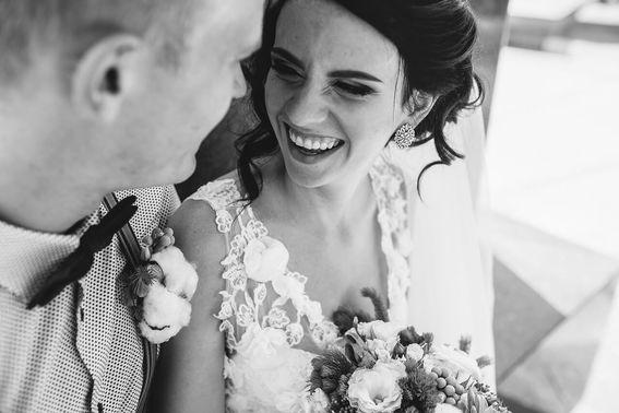 schwarz-weiß Hochzeitsfotografie – gesehen bei frauimmer-herrewig.de